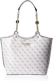 Guess Womens Handbag, White - SP767123