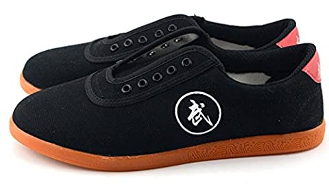 Chaussures Chaussures de Tai Chi Chaussures de toile Chaussures militaires Chaussures de formation Hommes et femmes Chaussures , black , 38