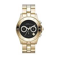Marc Jacobs - Reloj de cuarzo para mujer, correa de acero inoxidable color dorado de Marc Jacobs