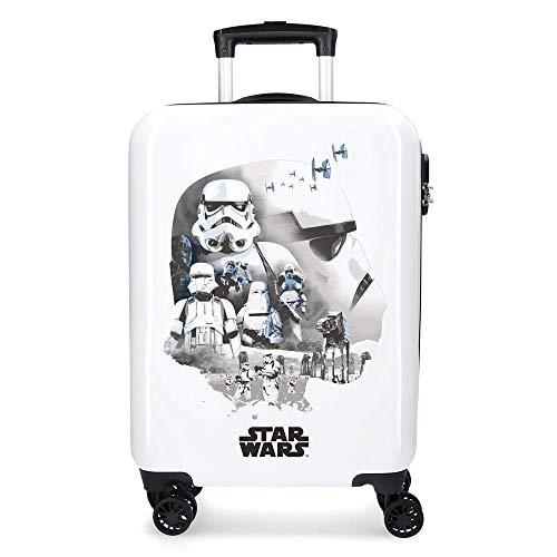 Star Wars Troopers Valigia per bambini 55 centimeters 33 Bianco (Blanco)