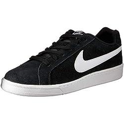 Nike Court Royale Suede Zapatillas de tenis Hombre, Negro (Black / White), 43 EU