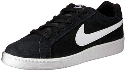 quality design b448e 95f21 Nike Court Royale Suede, Sneaker Uomo, Nero (Black White 011),