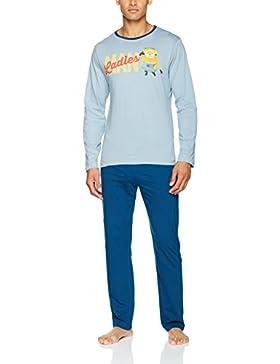 Nickelodeon Man Ladies Minions, Conjuntos de Pijama para Hombre