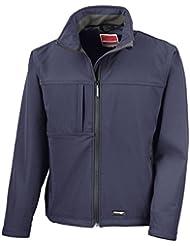 Resultado Clásica chaqueta Softshell - Navy - 2XL