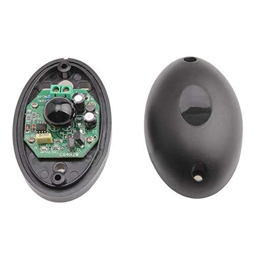 AB0-20 Single Infrared Beam Sensor 20M Alarm Photoelectric Infrared Detector(Black)