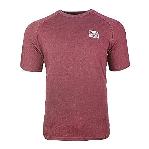 Bad Boy Icon T-shirt - Short Sleeves-Red-XXL