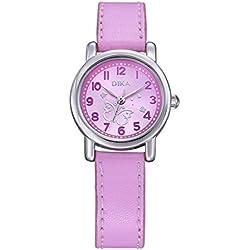 fashion children watch/Student quartz watch/Clean the watch-E