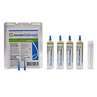 Syngenta 383920 Advion Cockroach Gel Bait 4 X 30 Gram Tubes Roach Control, 4 30, Brown and 1 TERRO T300B Liquid Bait Ant Station (Both Products Included in Order)