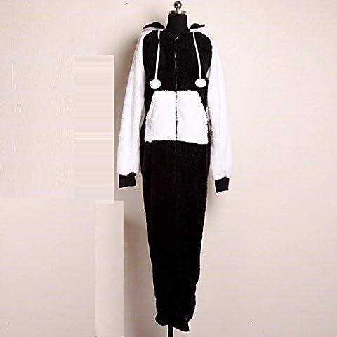 DMMSS Accappatoi donna manica camicia da notte corallo del panno morbido pigiama , l
