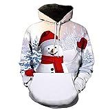 SANFASHION Neutral digitalen 3D Lässig Druck Sport Sweatshirt verschiedenen Designs