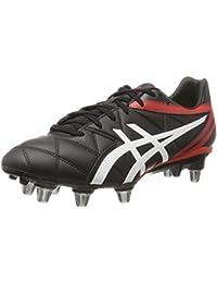 Sidestep XV FG Botas de Rugby, Color Rojo, Talla 39.5