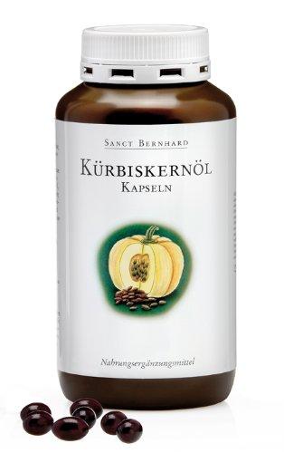 Sanct Bernhard Kürbiskernöl-400 Kapseln, 1er Pack (1 x 264 g)