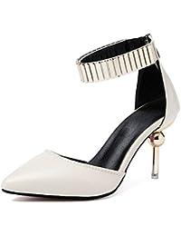 AARDIMI Zapatos de Tacón de Mujer Mujer