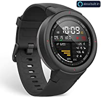 Amazfit Verge Bluetooth Nabız GPS Akıllı Saat, Siyah