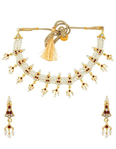 Anuradha Art Golden Colour Styled With Pink-White Sparkling Stones Classy Maharashtrian Look...