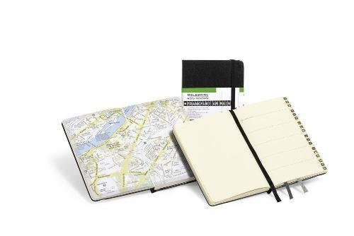 Moleskine City Notebook FRANCFORT Couverture rigide noire 9 x 14 cm