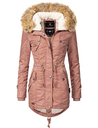 Navahoo Damen Winter Mantel Winterparka La Viva