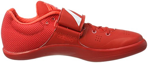 adidas Adizero Discus/Hammer Throw, Chaussures d'Athlétisme Mixte Adulte Rouge (Red/ftw White/solar Red)