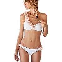 Les Femmes 3d Fleurs Patchwork Nager Les Ensembles 2 Morceaux Bikini Maillot