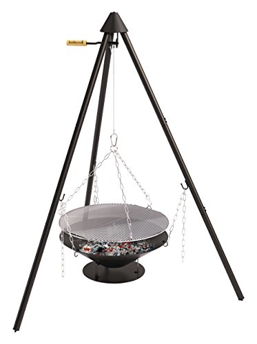 Barbecook Junko Barbecue à Charbon Noir 65 x 65 x 166 cm