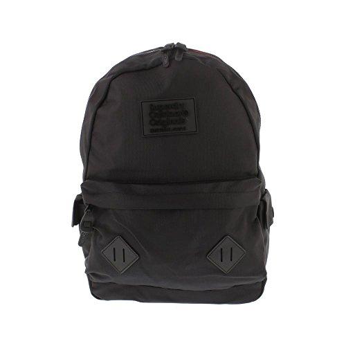 Superdry Noir Montana Hombre Backpack Negro