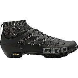 Giro Empire Vr70 Knit MTB, Zapatos de Bicicleta de Montaña para Hombre, (Black/Charcoal 000), 42 EU