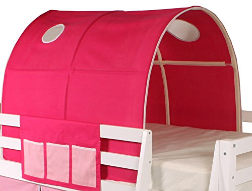 Beddybows Cabin Bed Tunnel Tent -Pink & Beddybows | Buy Beddybows products online in UAE - Dubai Abu ...