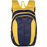 Dunnock Delos Laptop Backpack, 25 Litre (Yellow/Blue)