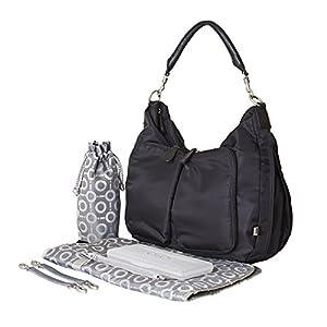 OiOi Nylon Hobo Changing Bag (Black) by OiOi