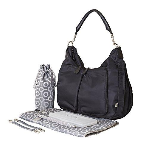 oioi-nylon-hobo-changing-bag-black