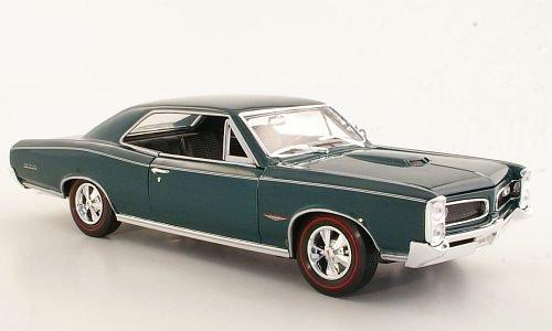 pontiac-gto-met-dkl-grun-1966-modellauto-fertigmodell-welly-118