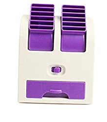 BiabaCollection New Real Mini Fan Air Conditioning ( Free Credit Card Holder)