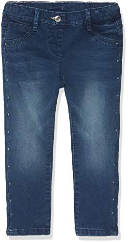 s.Oliver Junior Baby-Mädchen Jeans 65.810.71.3305, Blau (Dark Blue Denim Stretch 56z7), 80