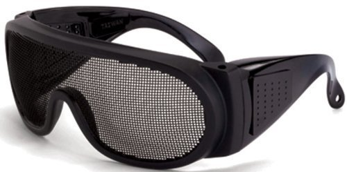 7668d74bd98d Crossfire 19218 Wire Mesh Safety Glasses - Matte Black Frame by Crossfire  Safety Eyewear