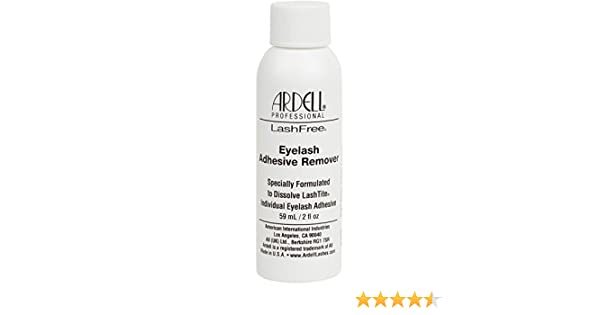 22ddf46821c Ardell LashFree Eyelash Adhesive Remover 59ml/2oz: Amazon.co.uk: Beauty