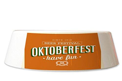 LEotiE SINCE 2004 Fress Futter Napf Bier Retro Oktoberfest Bedruckt Partykeller Fun