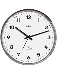 Dugena 4277414 - Reloj de pared analógico, color gris/blanco