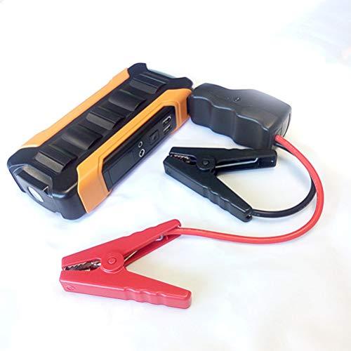 Car Jump Starter -pic actuel 600A lithium de capacité élevée Batterie, 12V voiture batterie de démarrage avec lampe de poche LED, démarrage d'urgence voiture Power Pack