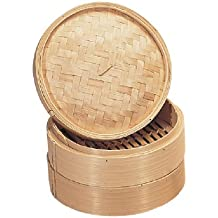 Vogue K303vaporera de bambú