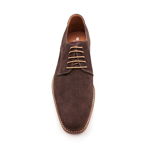 Zerimar Herren Lederschuh Eleganter Herrenschuhe Komfortabler Schuh mit Schuh für Den Mann Hochwertige Leder Schuhe Elegant mit Lederfutter 100% Leder