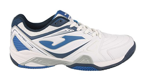 Joma T.MATS-605 - Zapatillas unisex, color blanco, talla 40