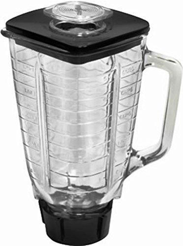 Oster 5 à carré 6 Pièces Verre complet de rechange pour Blender - Oster-glas-mixer-glas