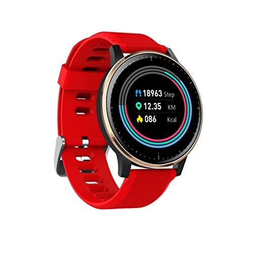 Multifunktions-Sport-Smart-Armband, High-Definition-Touchscreen,Schrittzähler-Timing,Herzfrequenz-Tracker,HD-Anruf,Erinnerungsinformationen,Social Sharing,IP68 Wasserdicht,Voll kompatibel