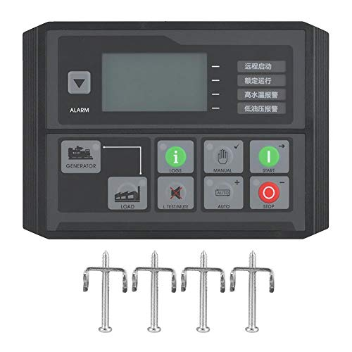 Controllore di generatore, DC40D MK3 Modulo di controllo generatore per generatore diesel, vari tipi di motore per auto-regolazione, con vite di fissaggio 4 *