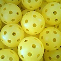 1 Dozen Dura Fast 40 Ball (outdoor) Yellow by Pickle Ball