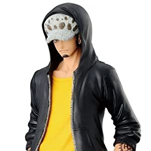 ONE PIECE - Figura estatua Colección - TRAFALGAR LAW 17cm T-shirt Amarillo - JEANS FREAK Banpresto 5