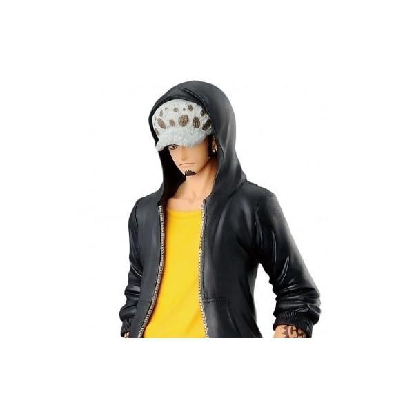 ONE PIECE - Figura estatua Colección - TRAFALGAR LAW 17cm T-shirt Amarillo - JEANS FREAK Banpresto 1