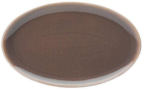 Denby Truffle Oval Platter by Denby