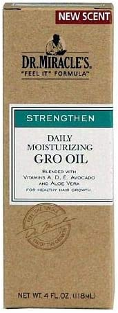 Dr. Miracle's Daily Moisturizing Gro Oil, 11