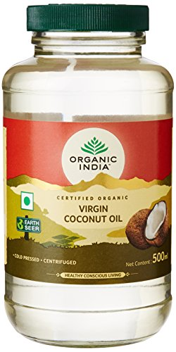 Organic India Virgin Coconut Oil, 500ml
